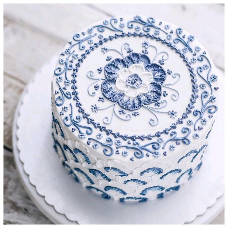 一组中国风蛋糕,美的大气精致~图7