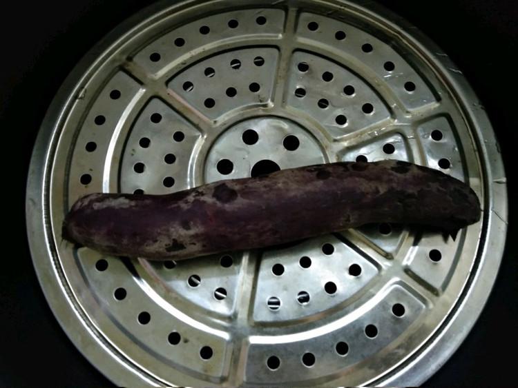 """紫薯发糕#""""蒸""""功夫美食大赛图2"""