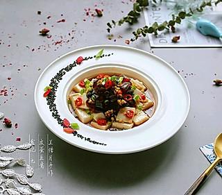 兰惜月的餐馆出镜率很高的大众料理——皮蛋豆腐