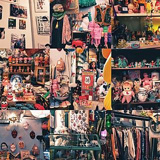 呆儿猫的香港值得逛的古着vintage合集香港旅游攻略~~~