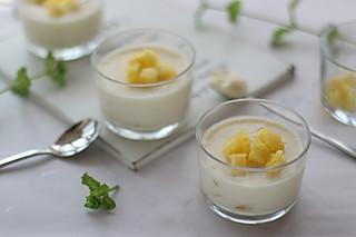 奶油tracy的菠萝酸奶慕斯酸酸甜甜清爽不腻口