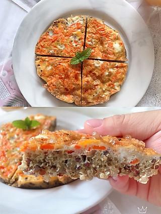 nana的美食日记的🌸100道减肥菜谱👉第2道藜麦红萝卜🥕烘蛋