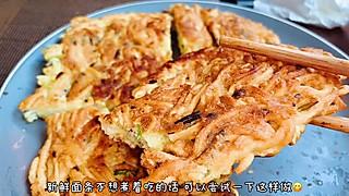 甜七姑娘的面条不想煮着吃,可以尝试这样做,好吃不浪费,味道有惊喜哦
