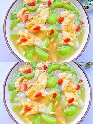 西蘭的营养又好喝的丝瓜鸡蛋汤