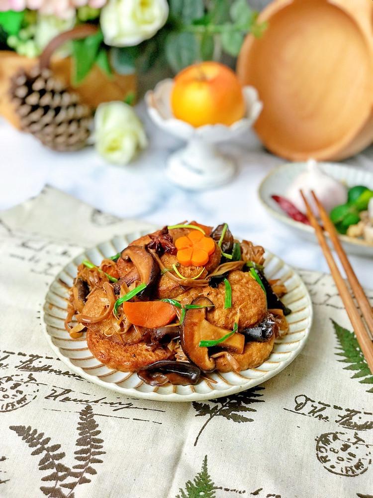 ㊙️比肉好吃的素菜-红烧素鸡图1