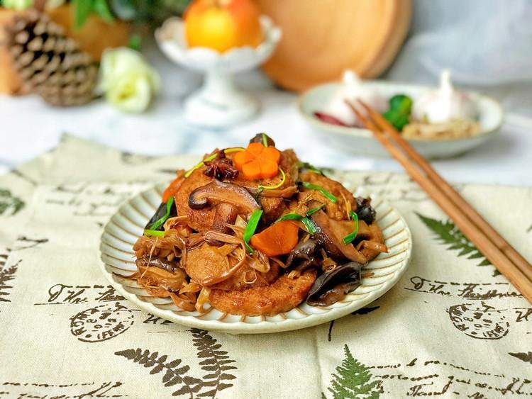 ㊙️比肉好吃的素菜-红烧素鸡图2