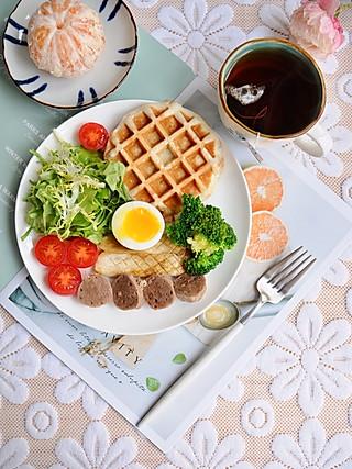 椛吃的一顿精心准备的早餐,健康且美味 能让你对新的一天充满信心~
