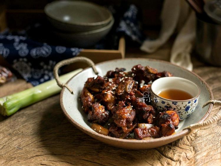 韩式辣酱烤排骨图1