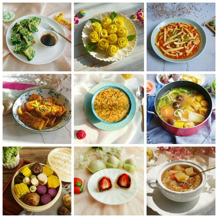 素食也可以做出千变万化的菜品,也可以烹调出百种美味!图1