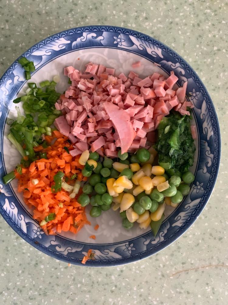 杂蔬大米饼图2