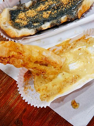 烤麻薯拉的丝,绝对比芝士还诱人‼️口感更是比糯米还糯~是幸福的味道~图3