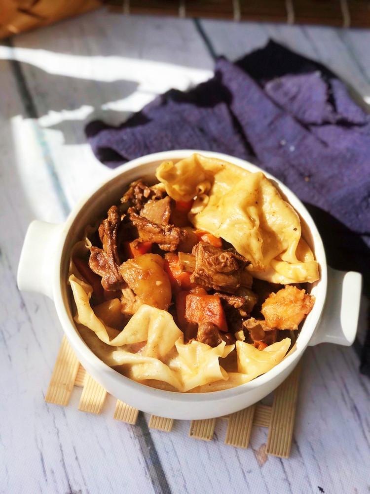羊肉烀饼,浸透着菜肴的汤汁异常美味!图8