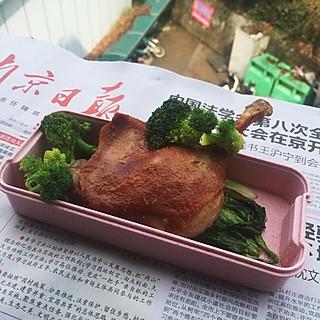 尤珂里里的#宿舍版奥尔良烤鸡腿#
