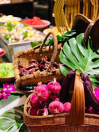 羽蒙儿的北京千禧大酒店CBD西餐厅新加坡美食节