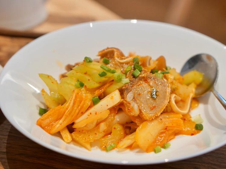 周末加餐,三文鱼vs 韩式年糕图3