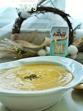 LuanneBoa-创意料理组的比南瓜浓汤还好喝的倭瓜坚果浓汤😋