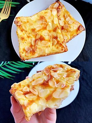Lincf_v的🔥吐司又逆天了❗️外酥里嫩,奶香浓郁的熔岩乳酪吐司,超简单