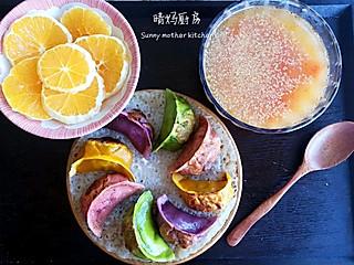 营养师晴妈的营养早餐168-缤纷锅贴饺子