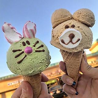 Delicious美味屋的超级可爱的冰淇淋