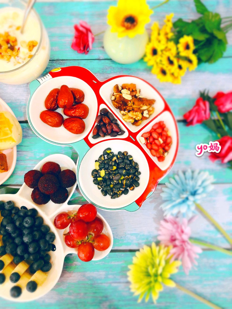 来个造型餐盘合集,整个早餐都变得可爱了(๑• . •๑)!图3