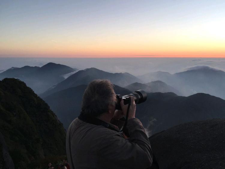 华南第一峰,有木有大片的感觉😄,4点起床看日出,美丽冻人图3