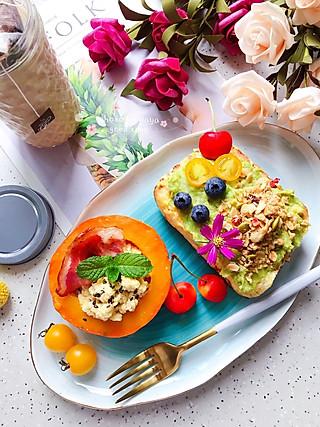 芽芽名叫黄小芽的早餐打卡