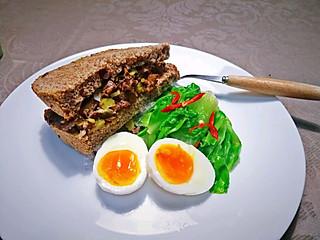 莽莽儿的动手做一份健康的早餐,让一整天都能量满满呗😉