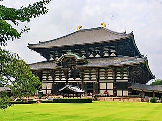 阁主霓虹国七日游之奈良东大寺