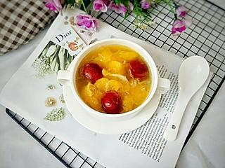 糖小田yuan的【酸甜可口的橘香银耳羹,简单煮一煮,营养美味又开胃】