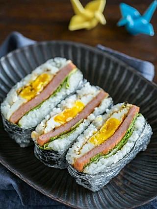 吃货遇上美食记的日式饭团