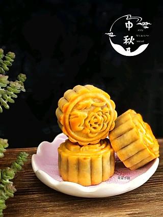 楚楚小厨的自制橙皮红豆沙广式月饼