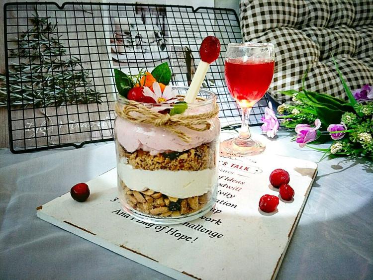 酸香开胃的蔓越莓坚果奶油杯,营养美味,只需10分钟就可做好~图3
