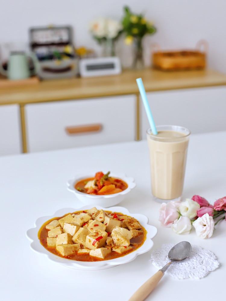 喵の早餐 | 香辣豆腐,比百元餐厅的好吃~图6