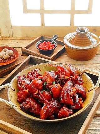 清雅小厨的大厨教你做红润亮泽的香辣猪蹄😋肥而不腻入口即化‼️