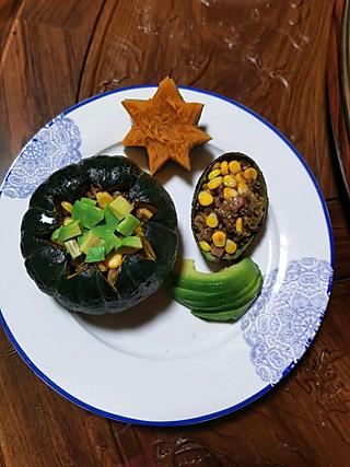 藜麦南瓜饭,香甜糯糯的贝贝瓜配上营养的藜麦,健康减脂哟☺