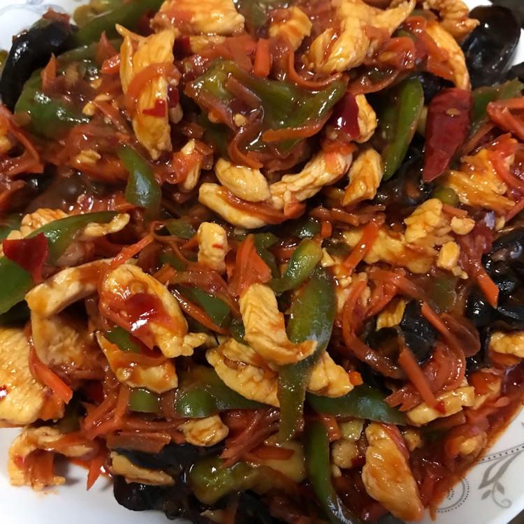 鱼香肉丝 西红柿炒鸡蛋 酥炸鱼丸 榴莲酥图1