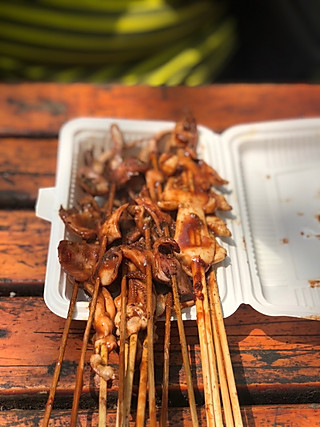 叽里咕噜小厨娘的粮道街有名的铁板鱿鱼