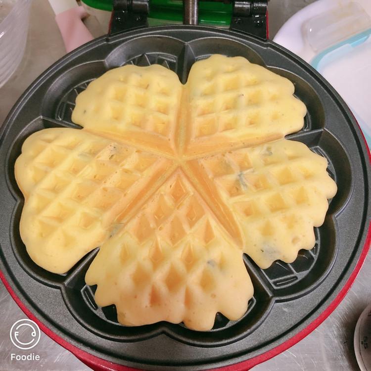 小红锅版芝麻海苔华夫饼图8