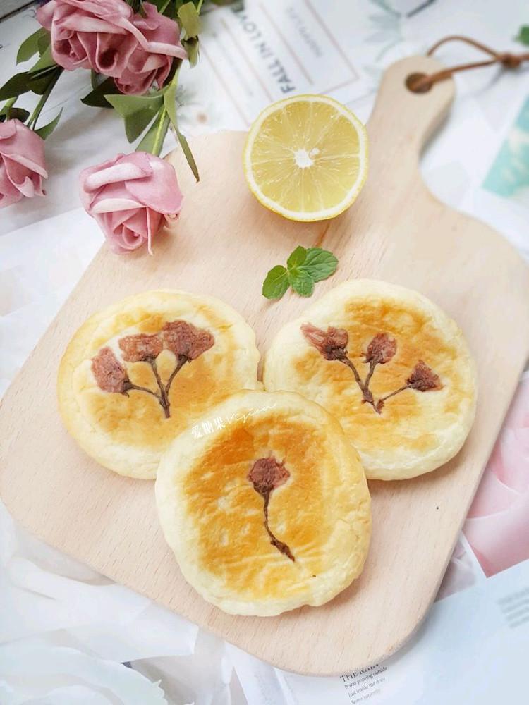 樱花蛋奶包好吃又美丽图1