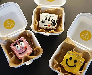 sweetness棠的韩国🇰🇷很火的便当盒蛋糕 不得不佩服韩国人在做蛋糕这方面的创意