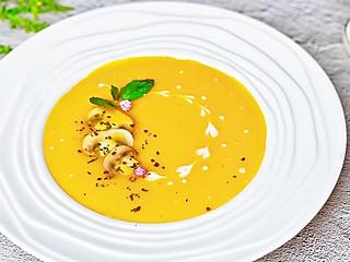 流光舞的㊙️超级美味💯一学就会‼️蘑菇南瓜浓汤