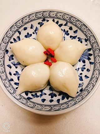 静思雪的美好时光的上海大汤圆——荠菜肉