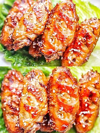 西蘭的好吃到吮指的蒜香鸡翅‼️外酥里嫩👣鲜嫩多汁🔥秒杀肯德基