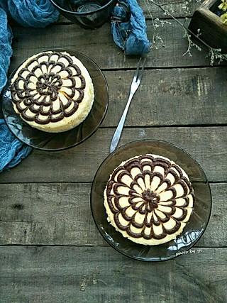 焙着乐的拉花芝士蛋糕