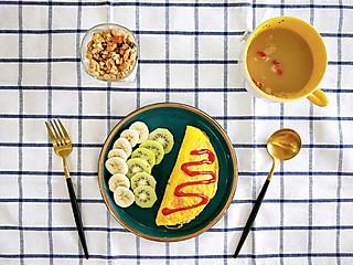 阿茶子的快手早餐——蛋包饭