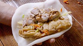 【温岭嵌糕】比脸还大的饺子,长得丑吃着美!