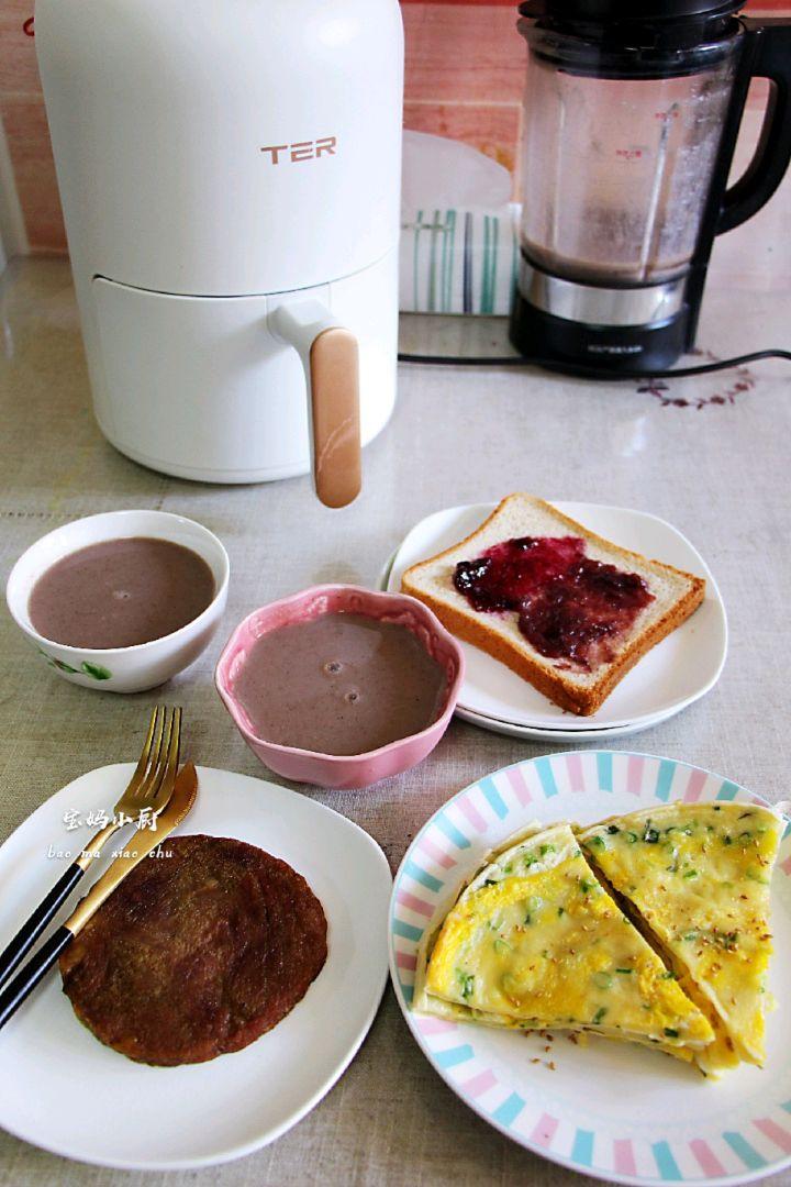 4.25日早餐:中西混搭,全家喜爱图1