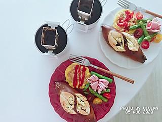 懒懒DE小v的8.5 早餐 | 好吃的乳酪蔓越莓碱水