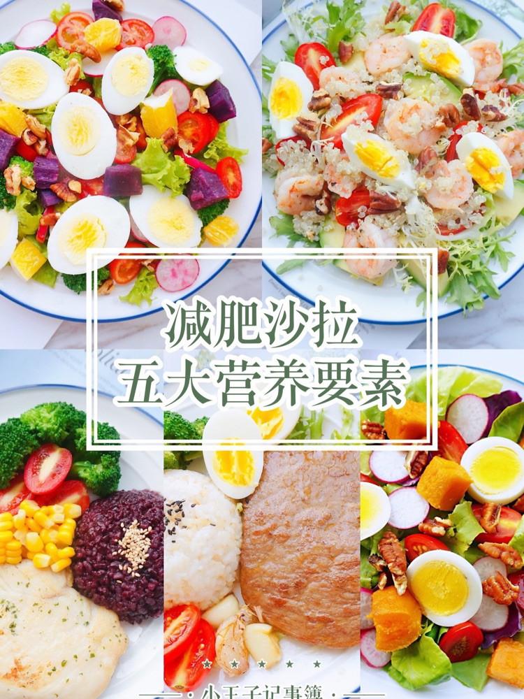 掌握减肥沙拉的五大营养要素🥗让你的沙拉既美味又营养图1