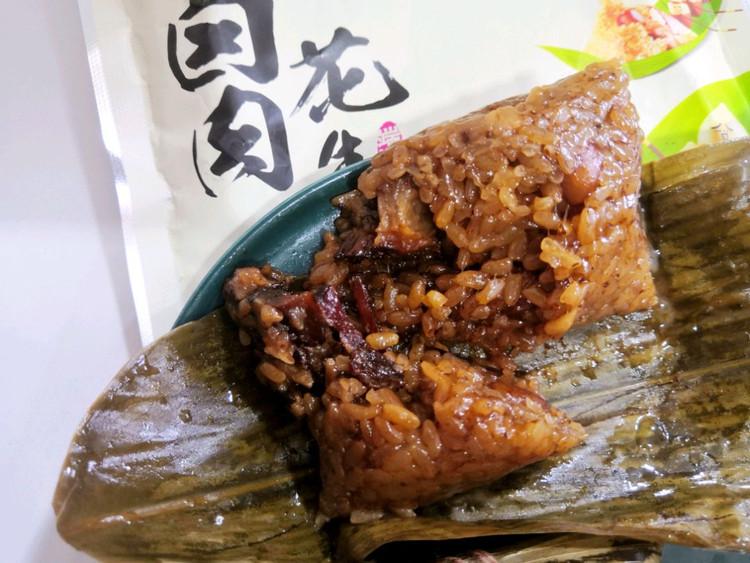 午餐吃粽子,还是有肉的吃着香图4